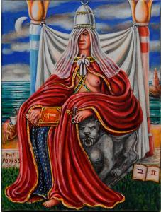 The Popess, tarot n° 2
