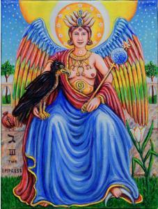 The Empress, tarot n° 3