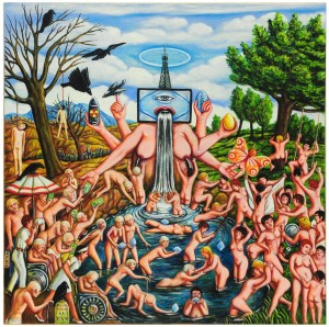 THE FOUNTAIN OF YOUTH -60x60