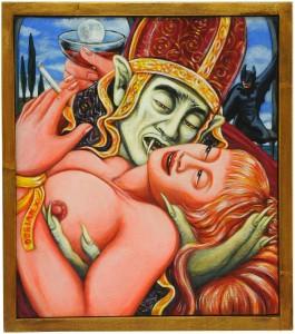 op.102.Gothic Kiss.35x40
