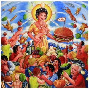 OUR LADY OF FOOD 50x50pg